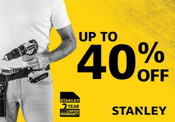 Stanley Uitverkoop -%-%