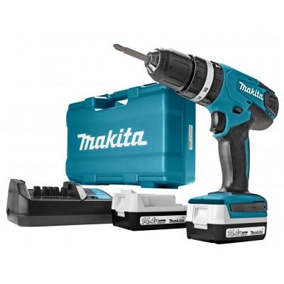 Makita HP347- 14,4 V Klopboor-/ schroefmachine