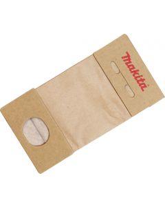 Makita 193712-3 Papieren stofzak voor stofzakhouder 120 mm