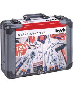 KWB gereedschapskoffer, 129-delig 370780
