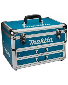 Makita 823340-7 Koffer aluminium blauw