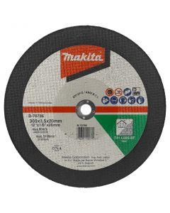 Makita 966121122 Doorslijpschijf 300x3,5x20mm steen