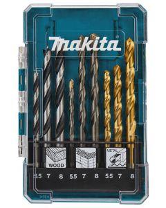 Makita D-71978 Borenset 9-delig