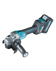 Makita GA026GM201 40 V Max Haakse slijper 125 mm