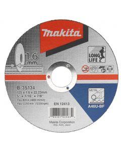 Makita A-85307 Doorslijpschijf 115x22,23x2,5mm staal