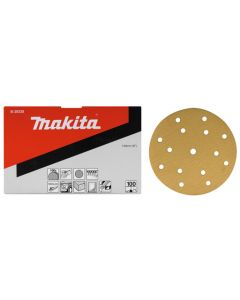 Makita B-39300 Schuurschijf 150mm K40 Yellow Velcro