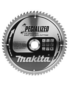 Makita B-40630 Afkortzaagblad Hout (noest/spijker)