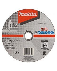 Makita B-45353 Doorslijpschijf 180x22,23x1,6mm aluminium