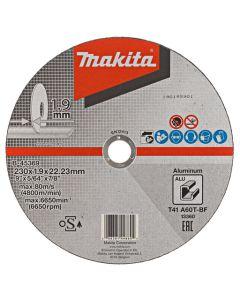 Makita B-45369 Doorslijpschijf 230x22,23x1,9mm aluminium