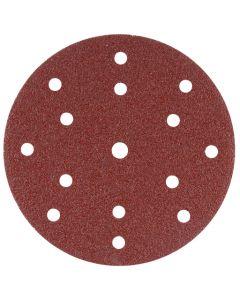 Makita B-51459 Schuurschijf 150mm K120 Red Velcro