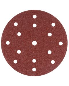 Makita B-51487 Schuurschijf 150mm K320 Red Velcro