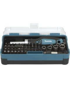 Makita B-36170 47-delige Doppen & Bitset in kunststof opbergbox