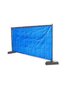 Bouwhekkleed, bouwhekdoek blauw 1.76 x 3.41 m
