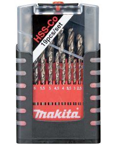 Makita D-50463 Borenset HSS-CO 19-delig