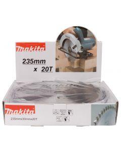 Makita D-52613 HM cirkelzaagblad 235x30x2,5 20T 14g