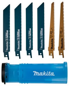 Makita D-53051 Reciprozaagset 6-delig hout en metaal
