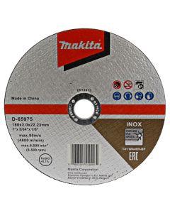 Makita D-65975 Doorslijpschijf 180x22,23x2,0mm RVS