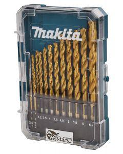 Makita D-72855 Metaalborenset 13-delig