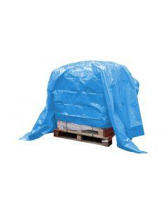 Dekkleed, afdekzeil, eco blauw 5 x 6 m.