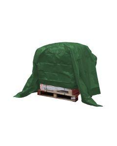 Dekkleed, afdekzeil, eco groen 8 x 10 m.