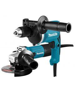 Makita DK0050X1 230 V Combiset (klop)boren en slijpen