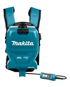 Makita DVC261TX11 2x18 V Rugstofzuiger voor schoonmaak