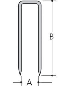 Makita F-32676 Niet 19mm 10,0x0,6x1,2mm