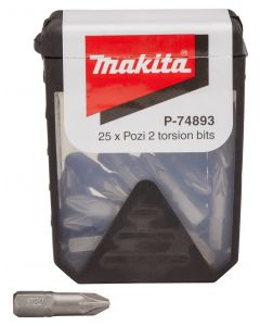 Makita P-74893 Schroefbit PZ2x25mm