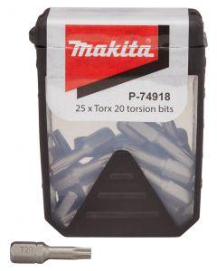 Makita P-74918 Schroefbit T20x25mm