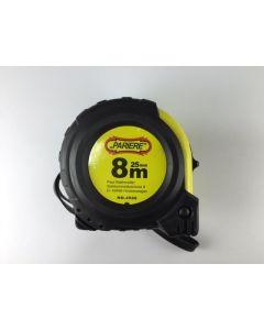 Rolbandmaat magnetisch 8M. - 25mm. - Pariere nr. 4508.