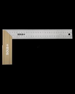 Sola Winkelhaak SRB300 ALU/RVS 300x145 mm.