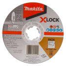 Makita E-00418 Doorslijpschijf X-LOCK 125x22,23x1,2mm RVS
