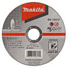 Makita B-45331 Doorslijpschijf 125x22,23x1,0mm aluminium