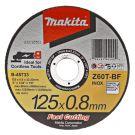 Makita B-45733 Doorslijpschijf 125x0,8mm RVS